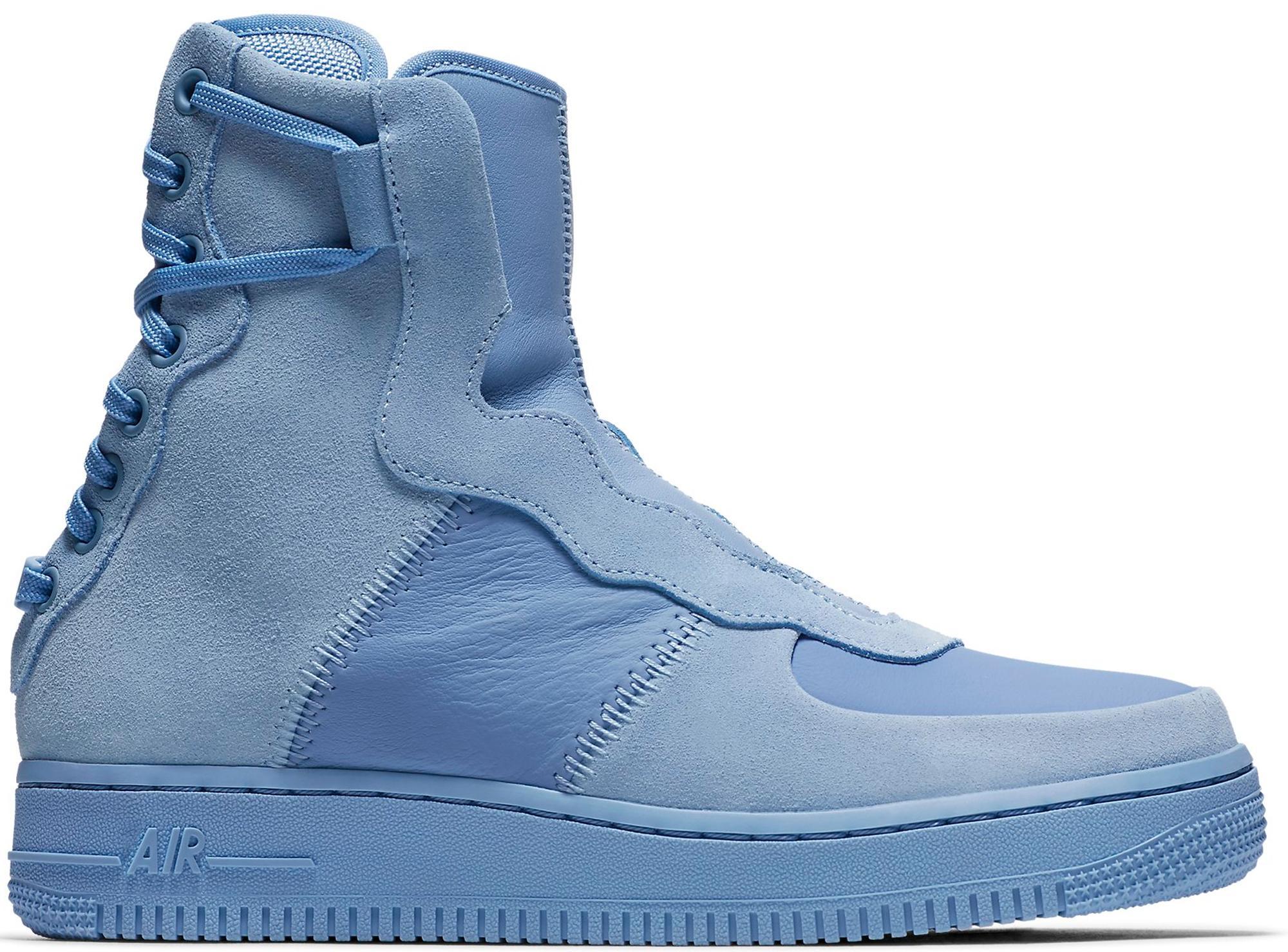 Lago taupo fenómeno Tiranía  Nike Rubber Air Force 1 Rebel Xx High Top Sneaker in Light Blue/Light Blue  (Blue) - Save 37% - Lyst