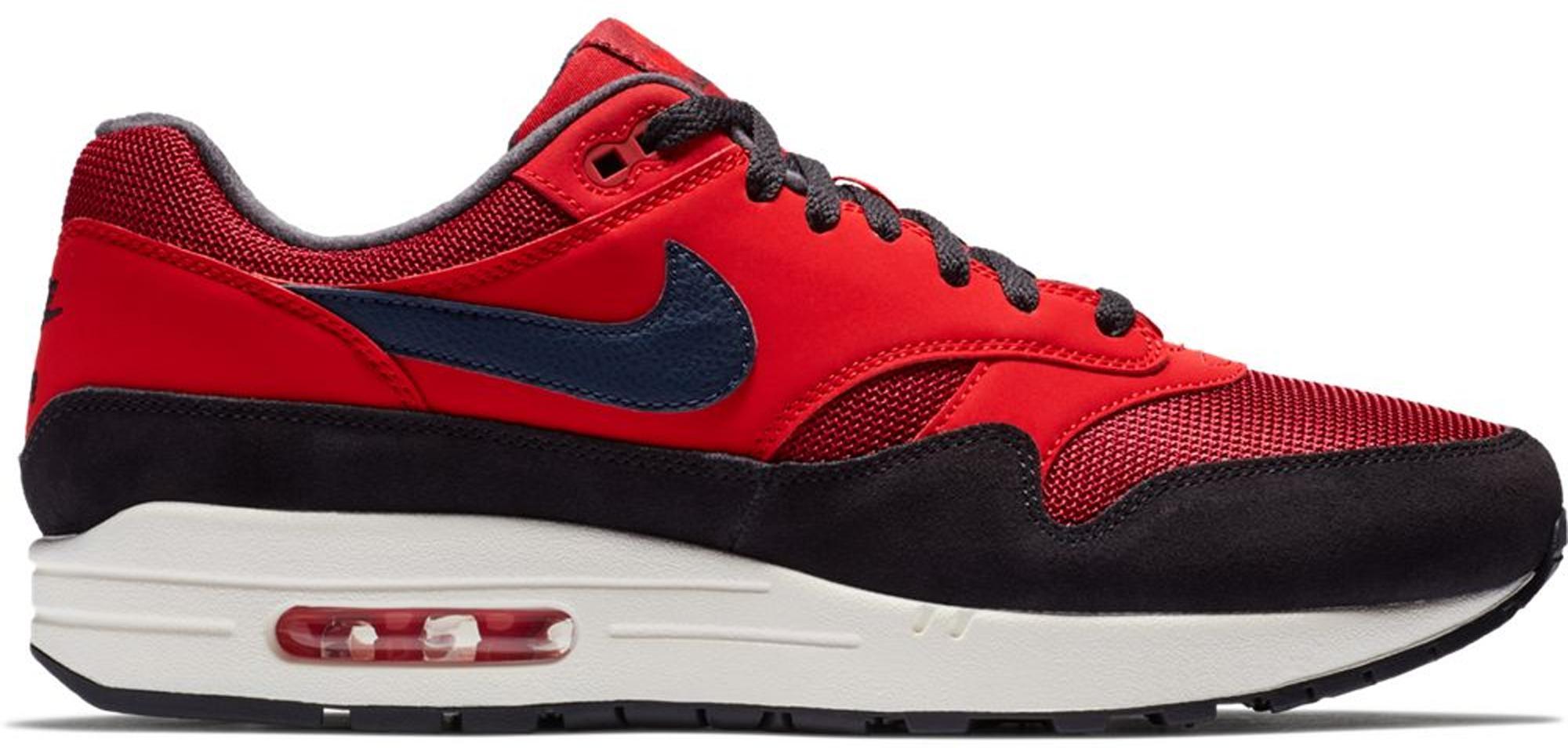 Nike Air Max 1 Red Crush for Men - Lyst