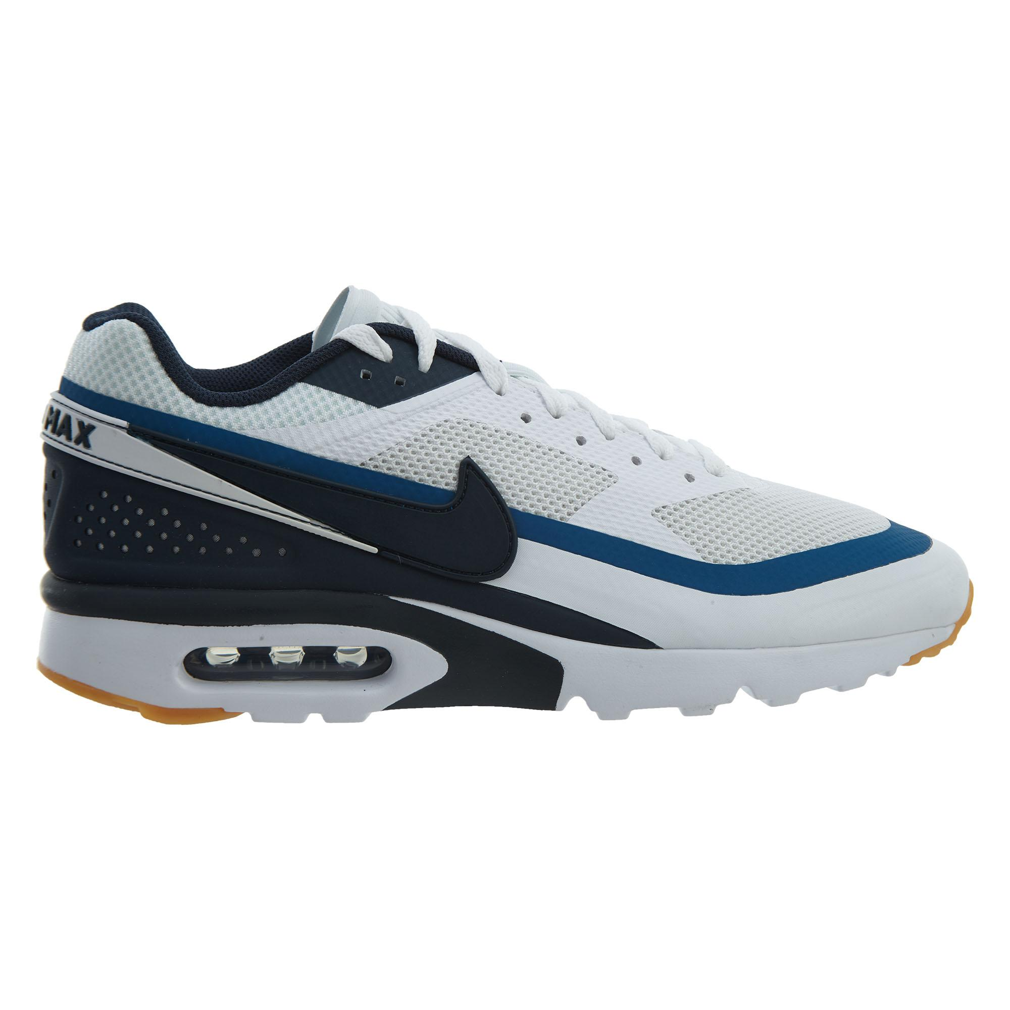 Nike Air Max BW Ultra Schuhe white armory navy industrial blue