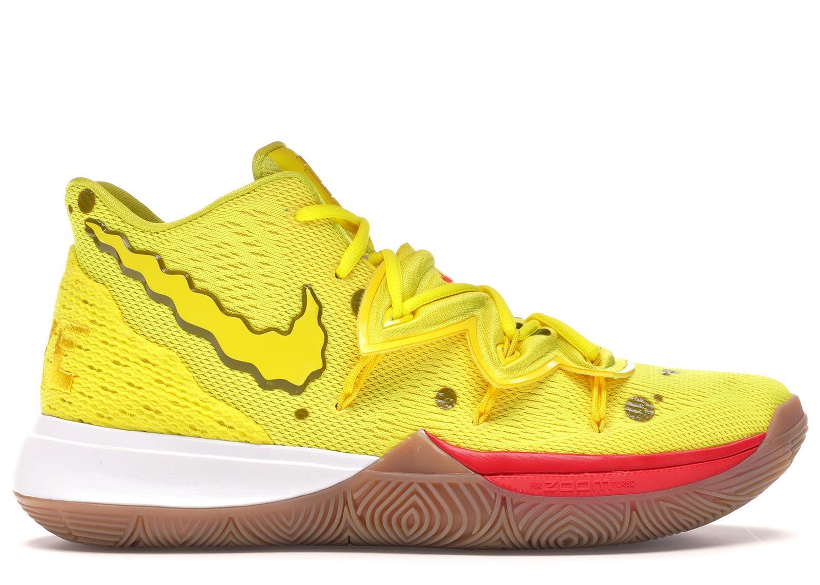Nike Kyrie 5 Spongebob Squarepants in
