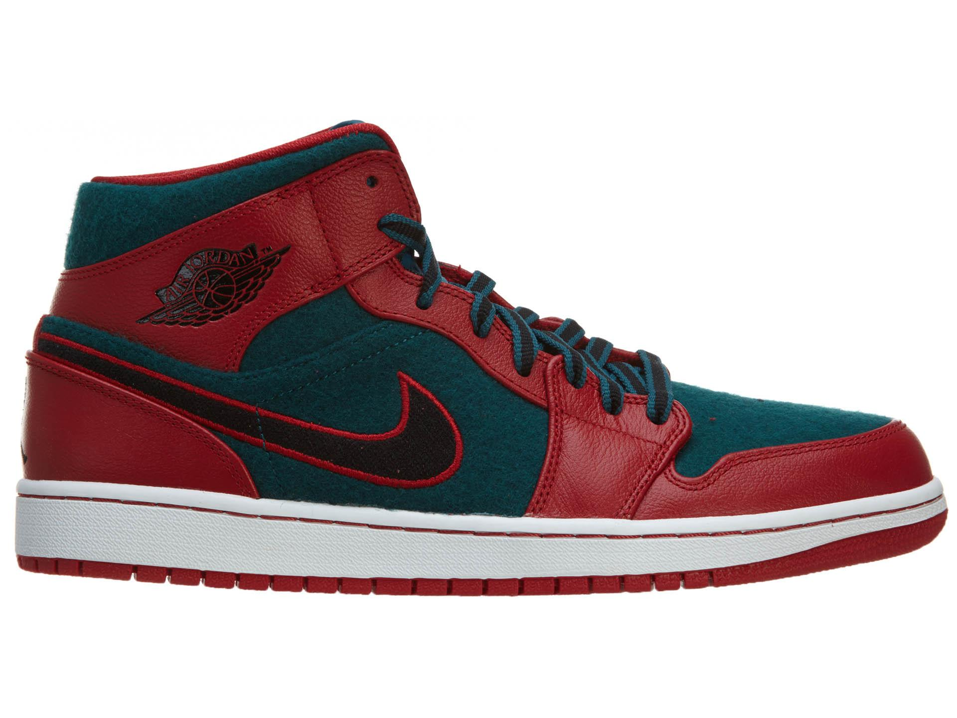 cf9ecfd9 Lyst - Nike Air 1 Mid Gym Red/black-dark Sea in Red for Men
