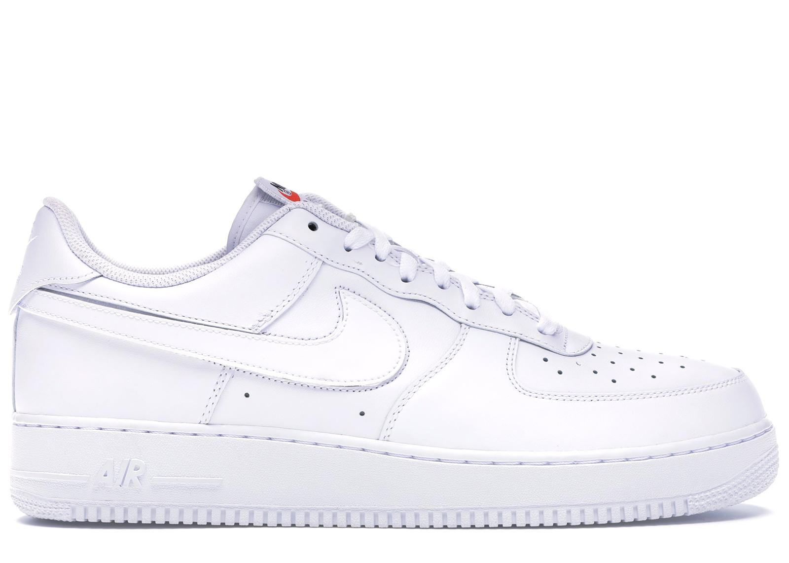Nike Air Force 1 Low Swoosh Pack All star 2018 (white) for