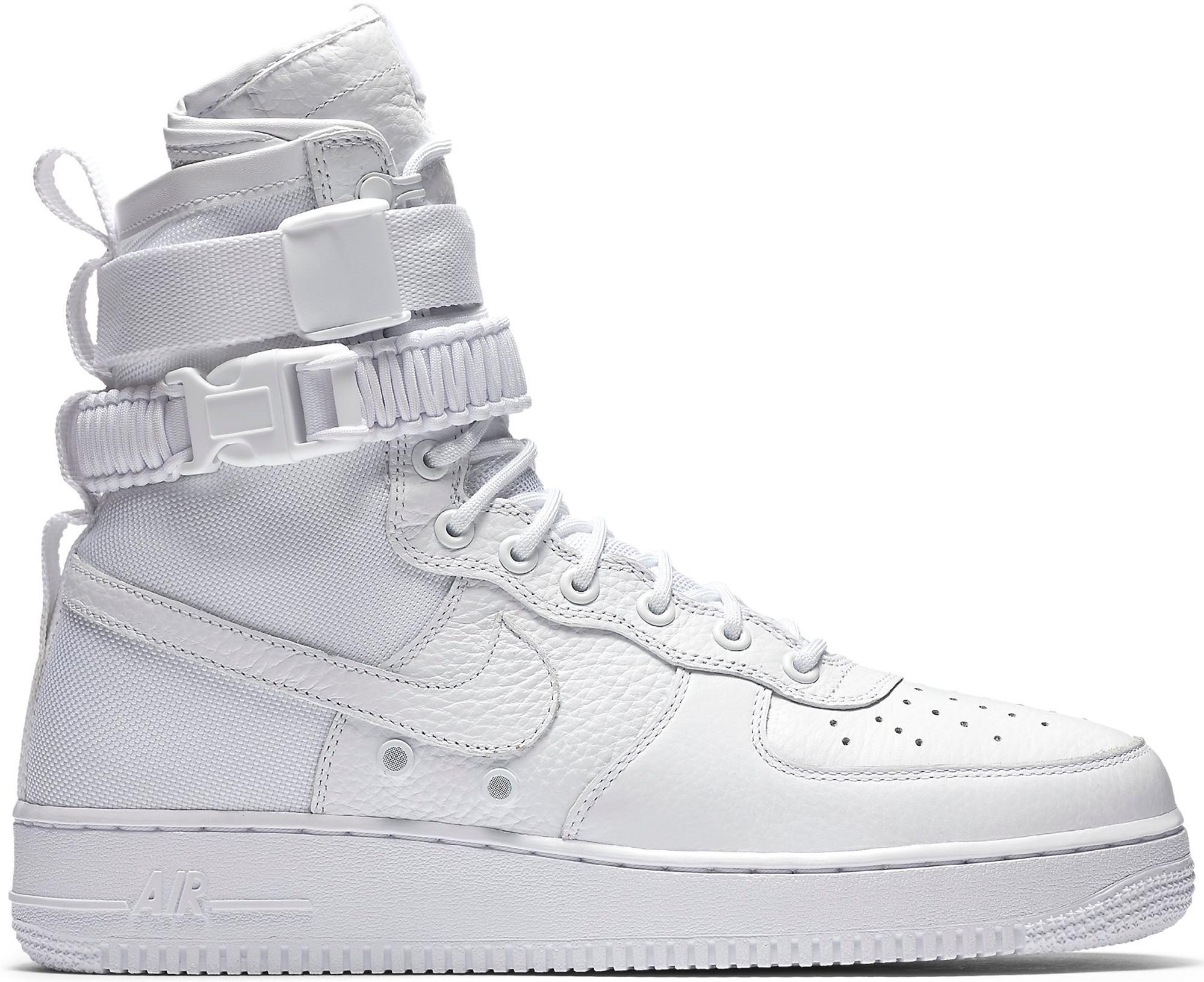 Nike Sf Air Force 1 High White (2017