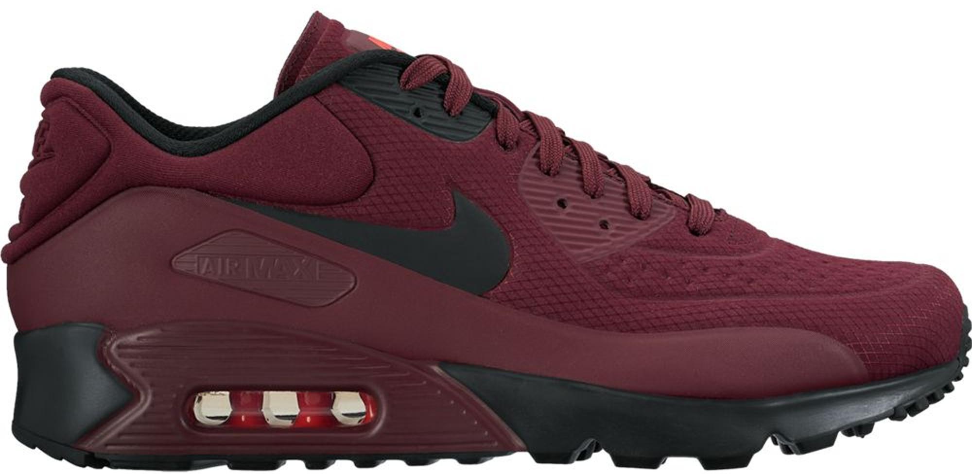 Nike Air Max 90 Ultra Bordeaux in