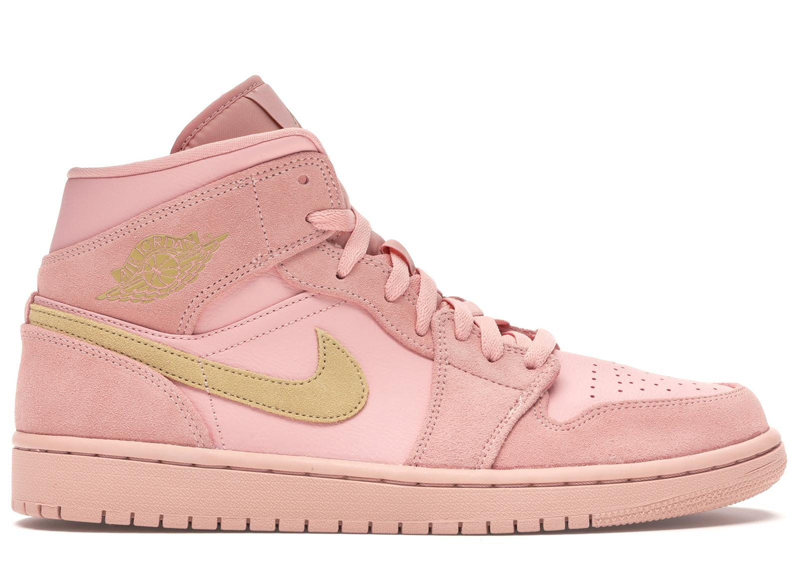 Nike 1 Mid Coral Gold in Pink for Men - Lyst