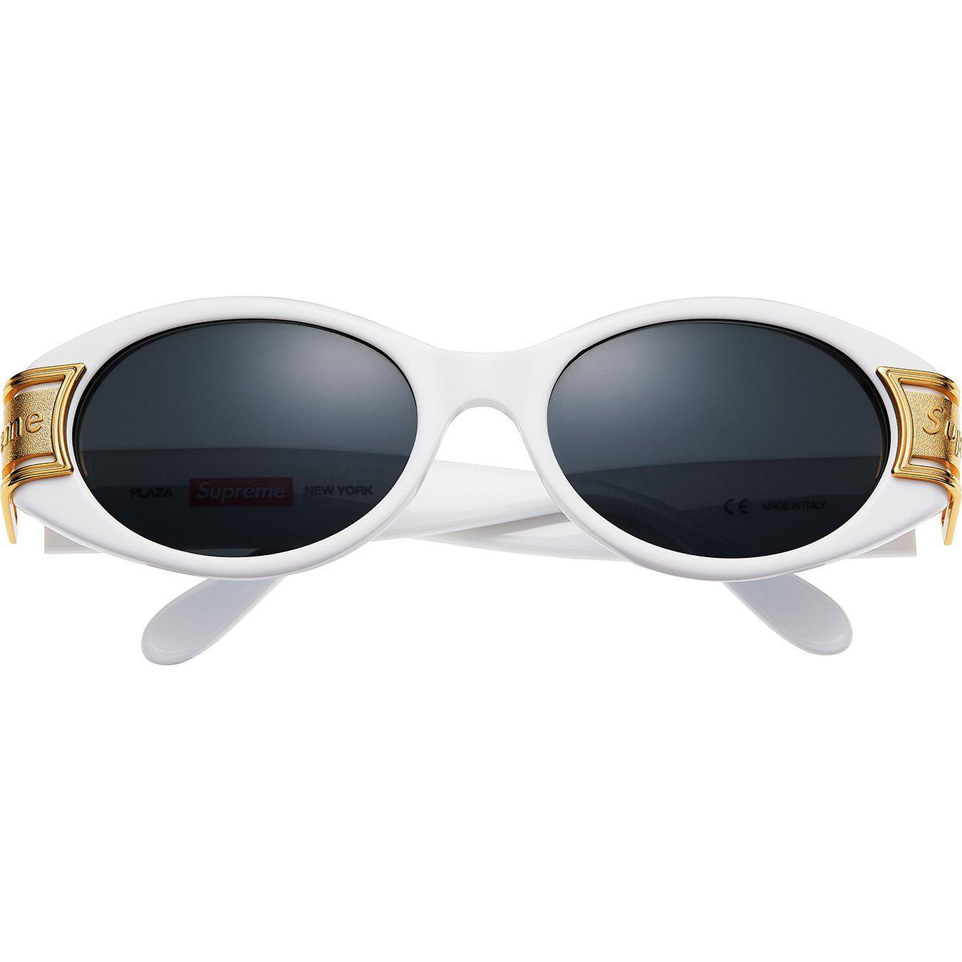 3c5d747f66 Lyst supreme plaza sunglasses white in white jpg 1350x1350 Supreme white  sunglasses