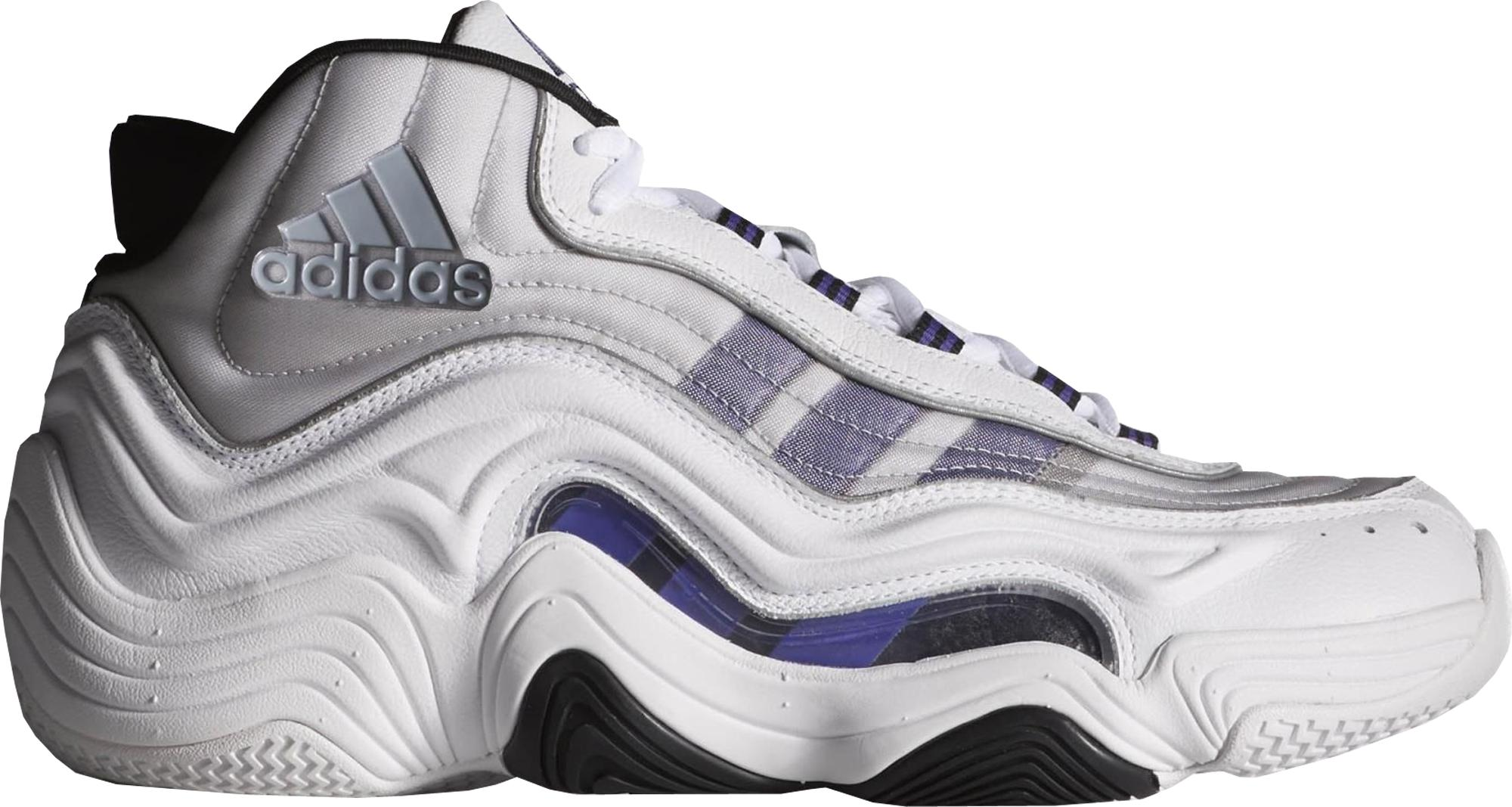 adidas Crazy 2 Kobe Home in White for