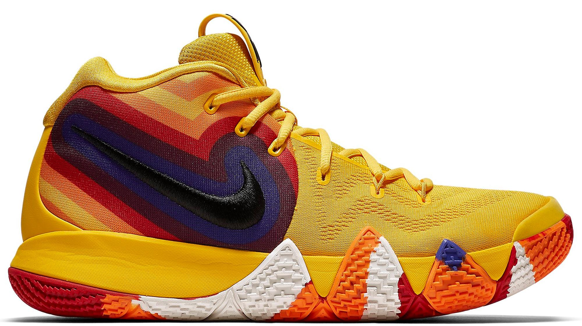 on sale dd4df 853a5 Men's Yellow Kyrie 4 '70s' Shoes - Size 13