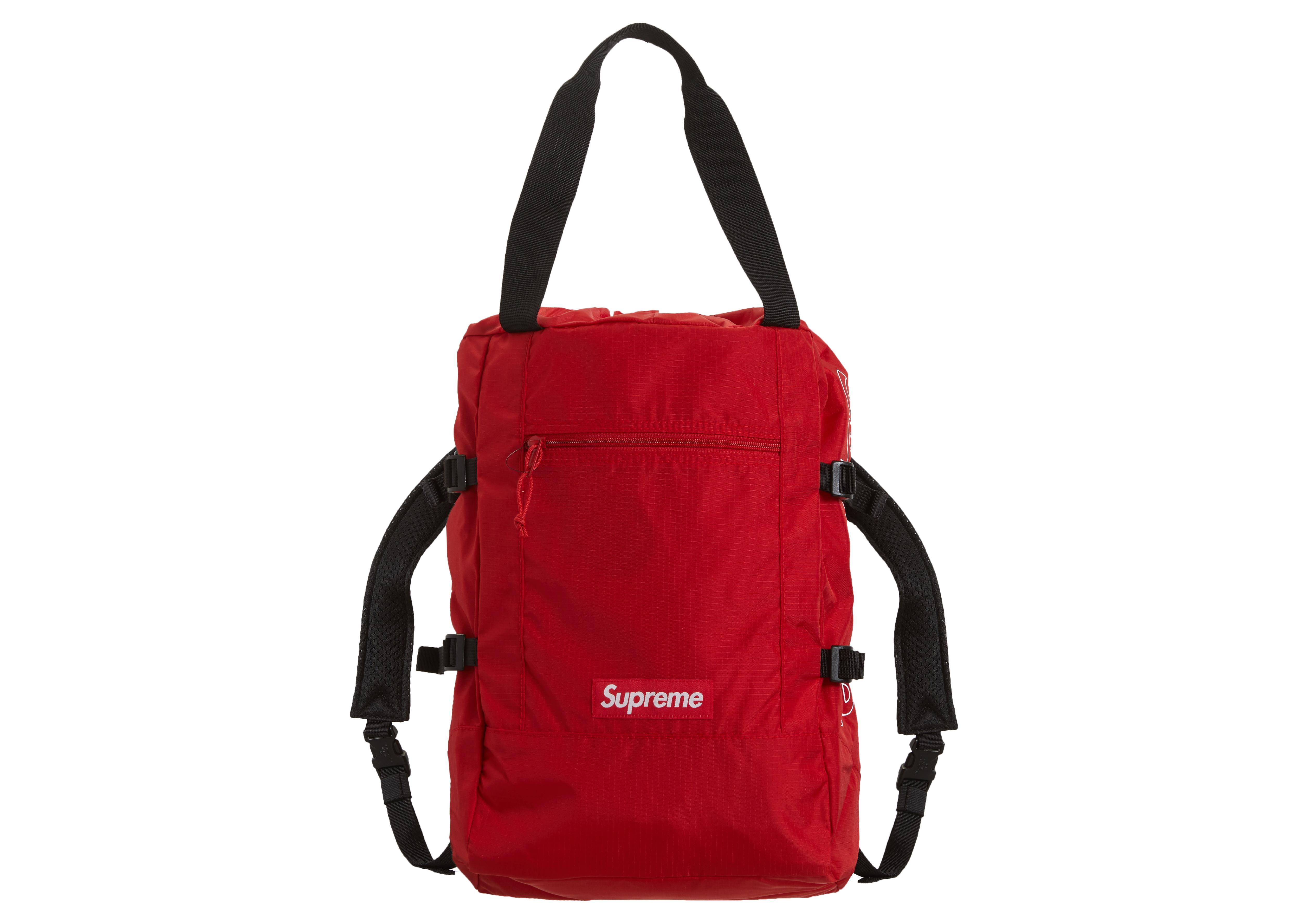 be20a95e Supreme Tote Backpack Red in Red - Lyst