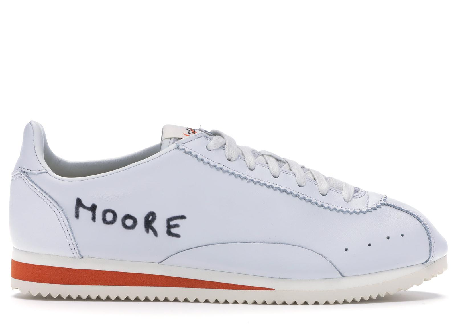 best sneakers 5a365 8b0c3 Men's White Classic Cortez Kenny Moore Track Spike