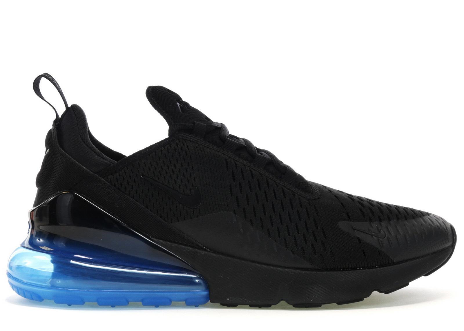 Nike Air Max 270 Black Photo Blue for