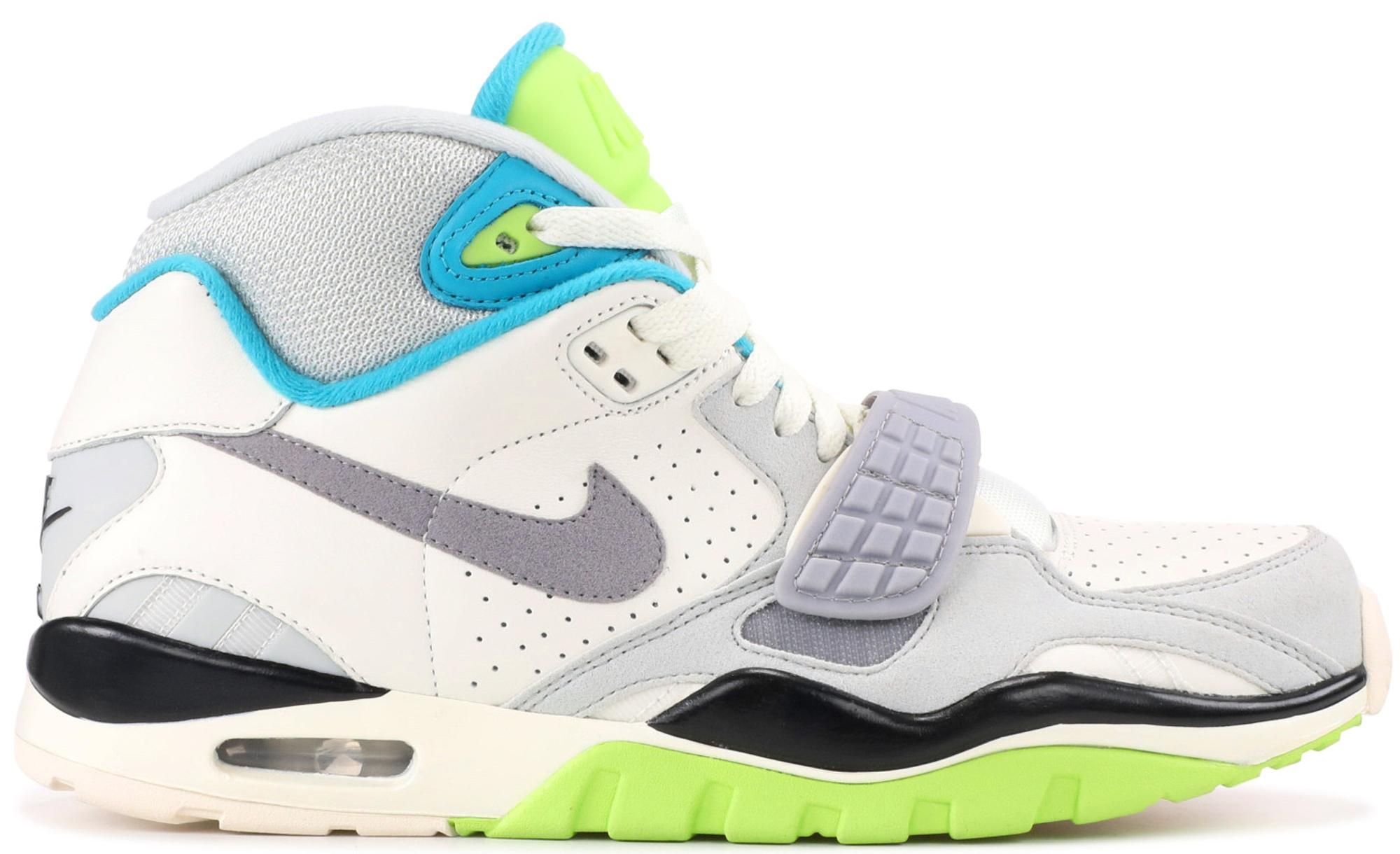 Men's Gray Air Sneaker Sc 2 Citron