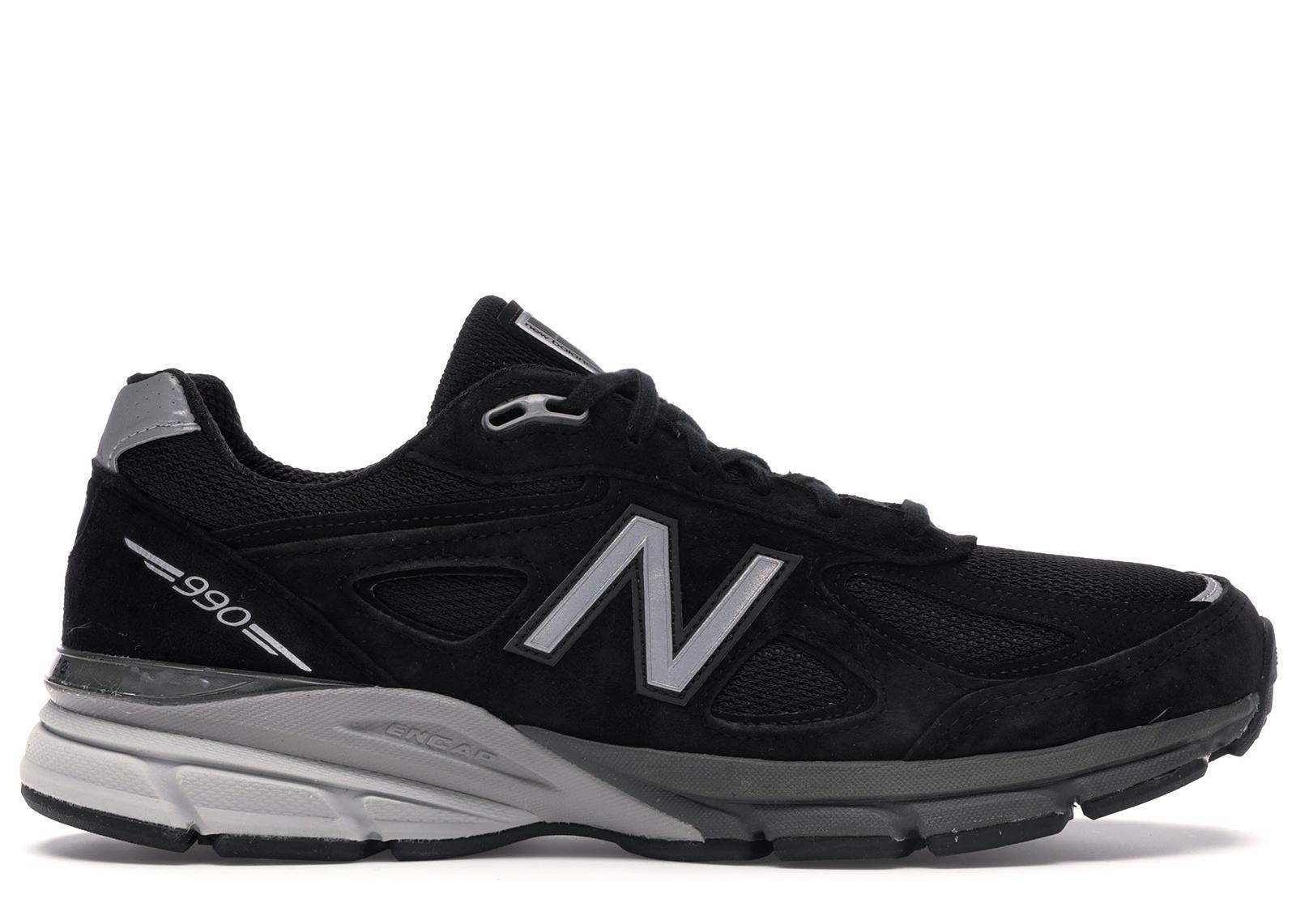New Balance 990v4 Kith Black for Men - Lyst