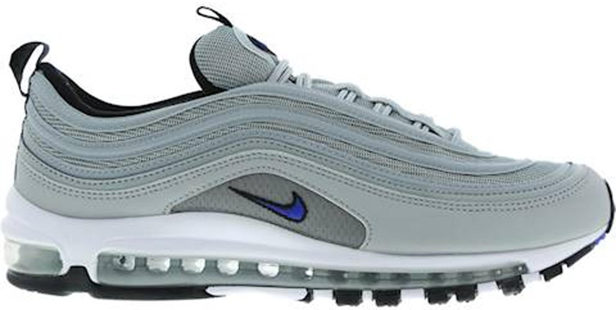 new product 8cb67 0e21e Men's Air Max 97 Metallic Silver Racer Blue
