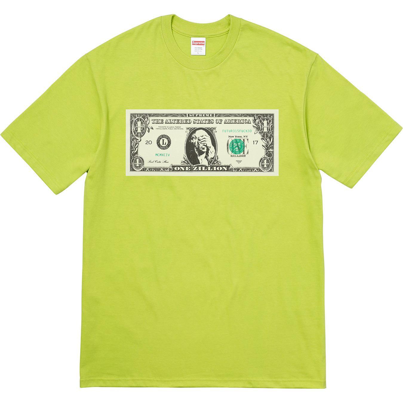 99098177675 Supreme - Green Dollar Tee Lime for Men - Lyst. View fullscreen