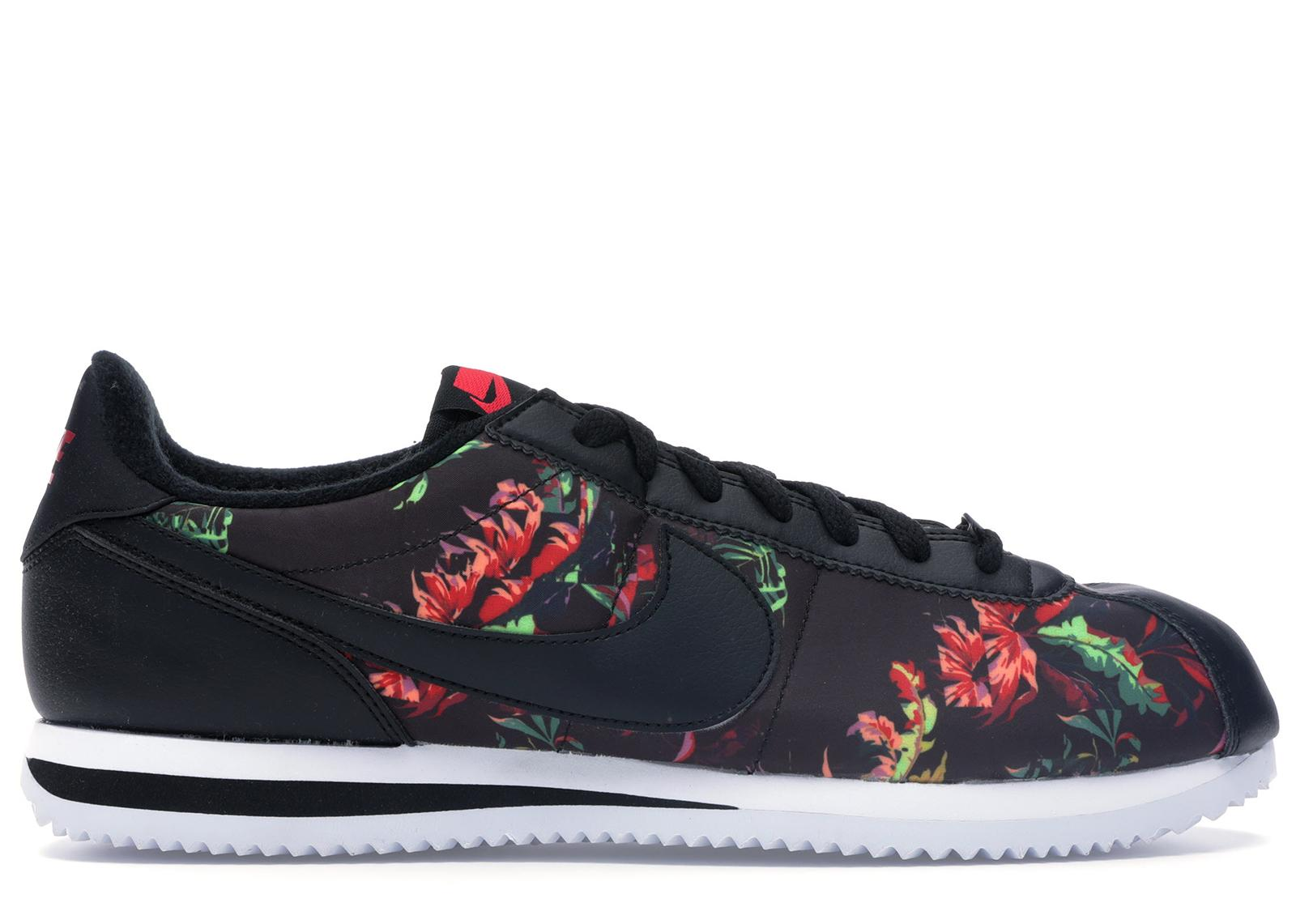 Nike Cortez Floral in Black for Men - Lyst
