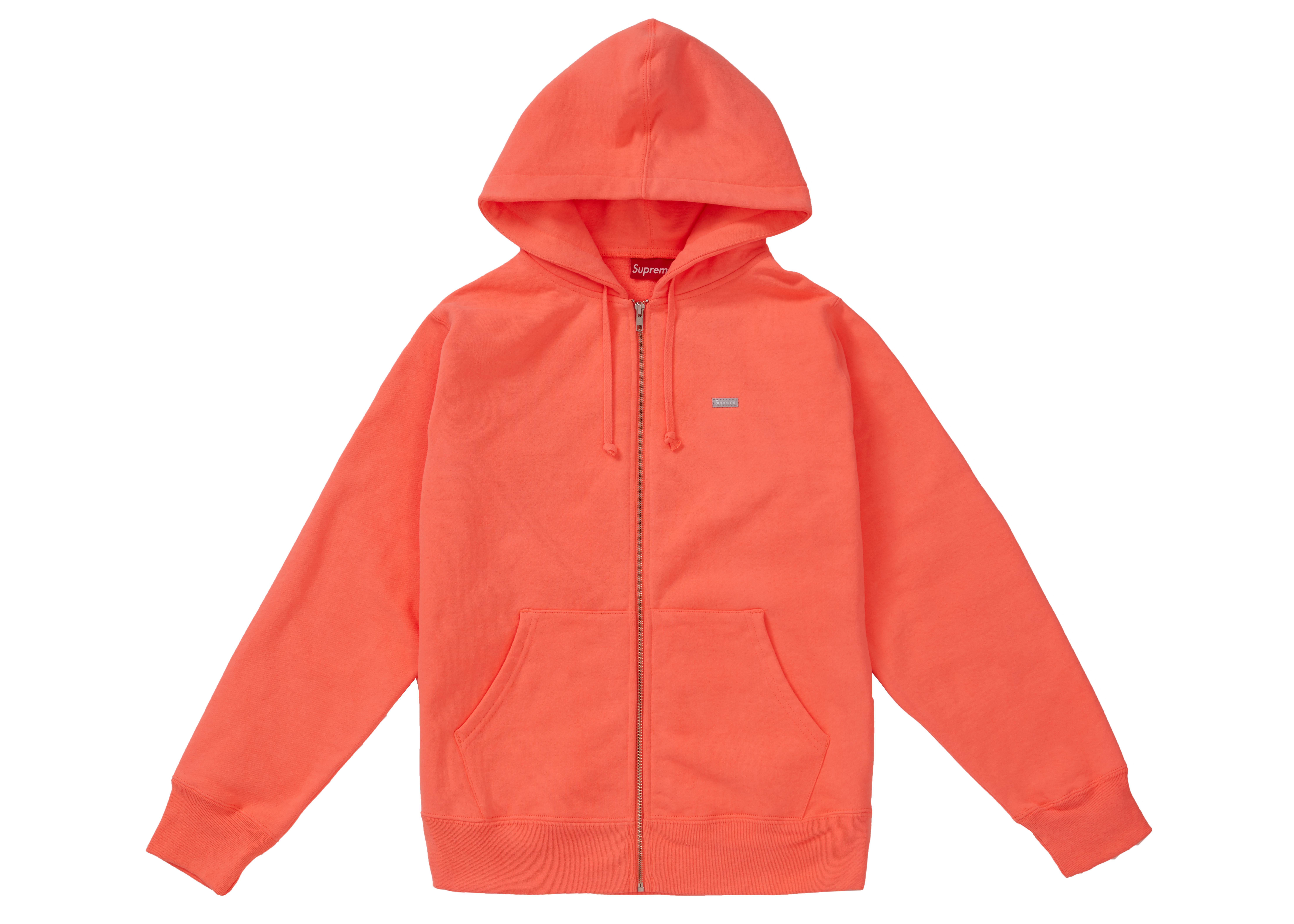 c8d15851eff9 Supreme - Reflective Small Box Zip Up Sweatshirt Fluorescent Pink for Men -  Lyst. View fullscreen