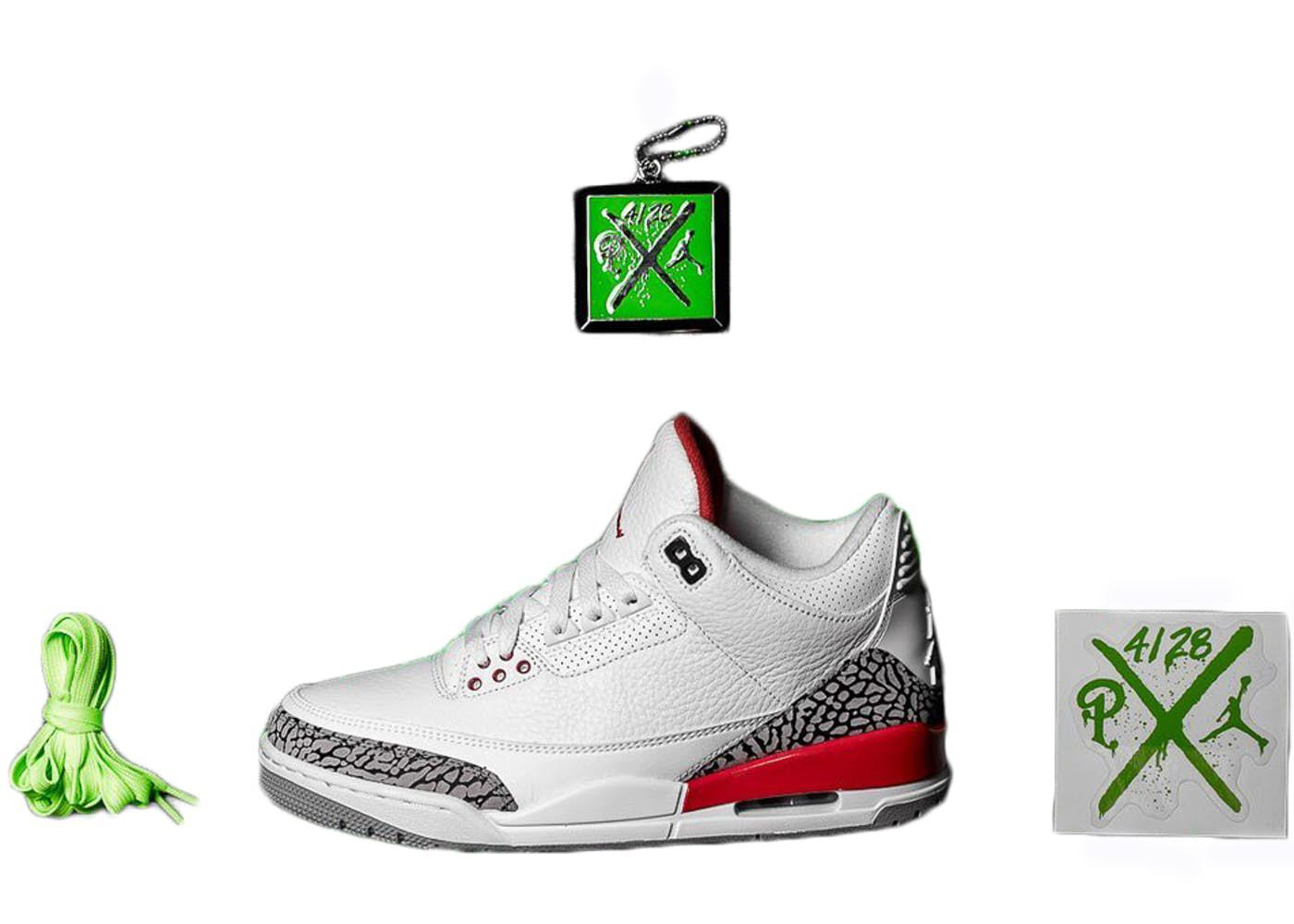 sneakers for cheap b9b7e e5d88 Nike. Men s Green 3 Retro Hall Of Fame ...
