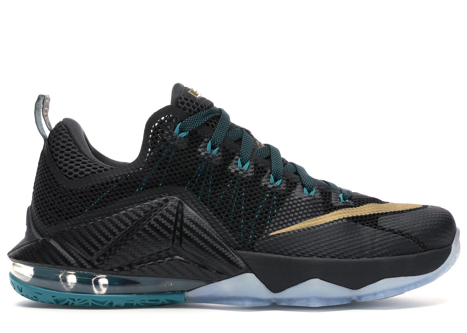 Nike Lebron 12 Low in Black for Men