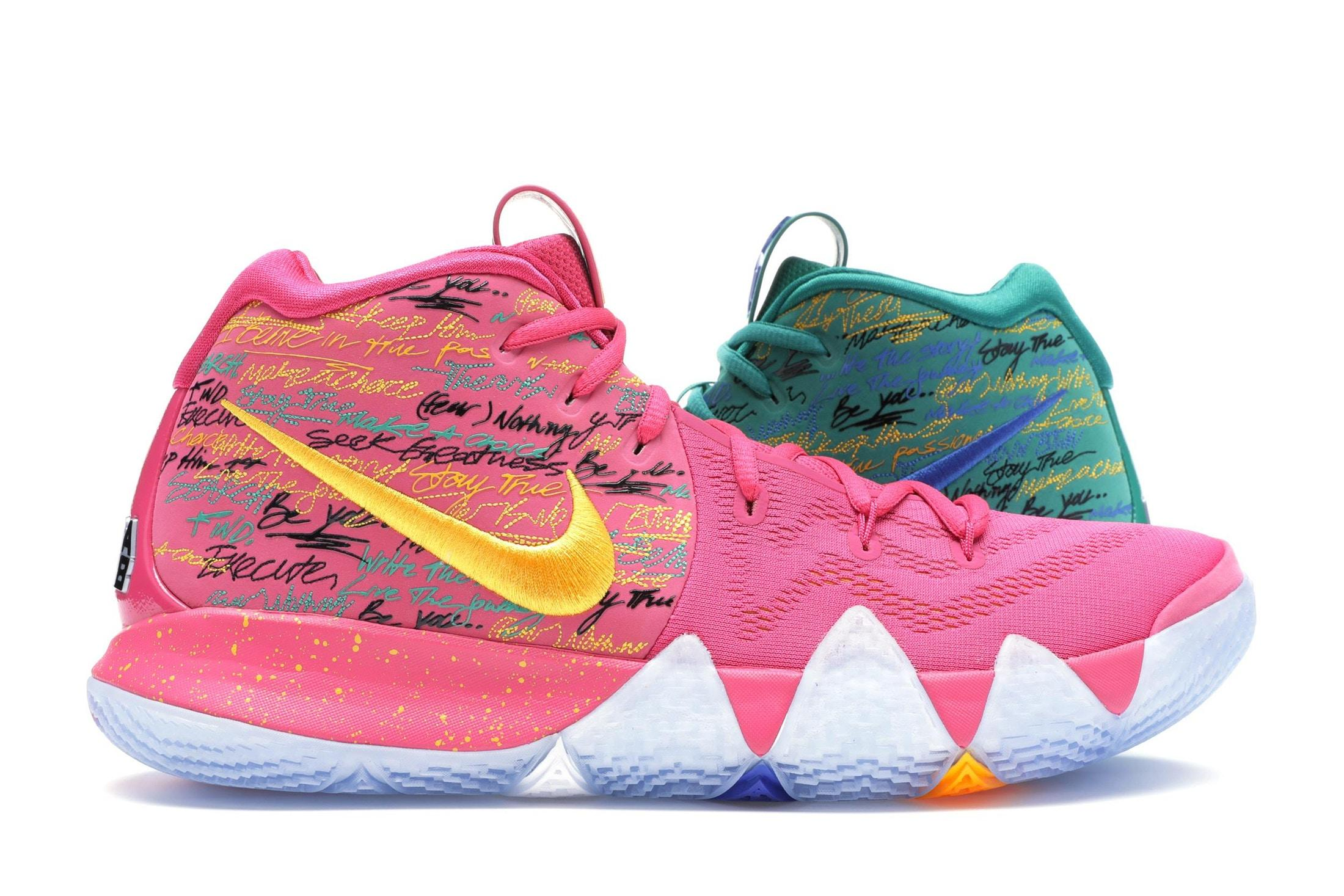 quality design ce7bd 8c2fd Men's Pink Kyrie 4 Nba 2k18