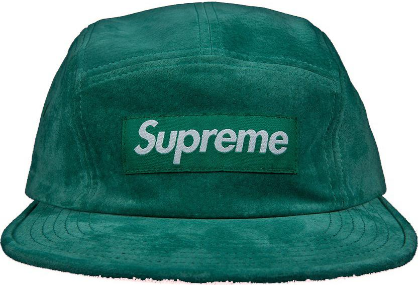 Lyst - Supreme Suede Camp Cap Light Green in Green for Men c942060c1bc