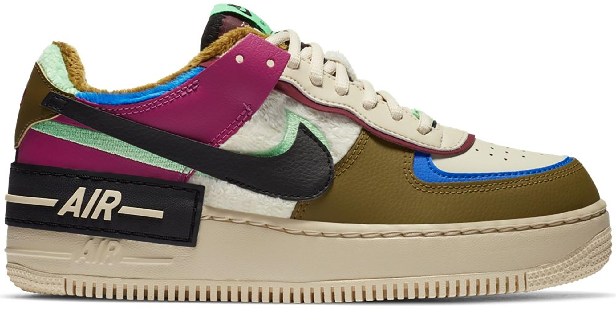 Nike Air Force 1 Shadow Cactus Flower Olive Flak W Lyst Nike's most iconic and enduring silo, the air force 1 is a street legend! lyst