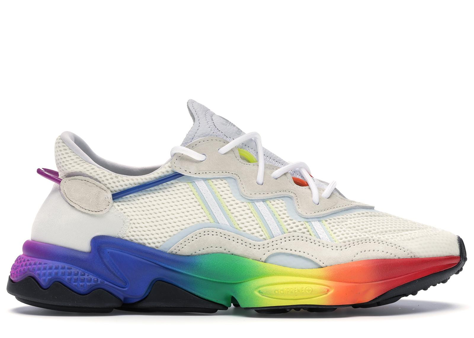 adidas Ozweego Pride Shoes in White for