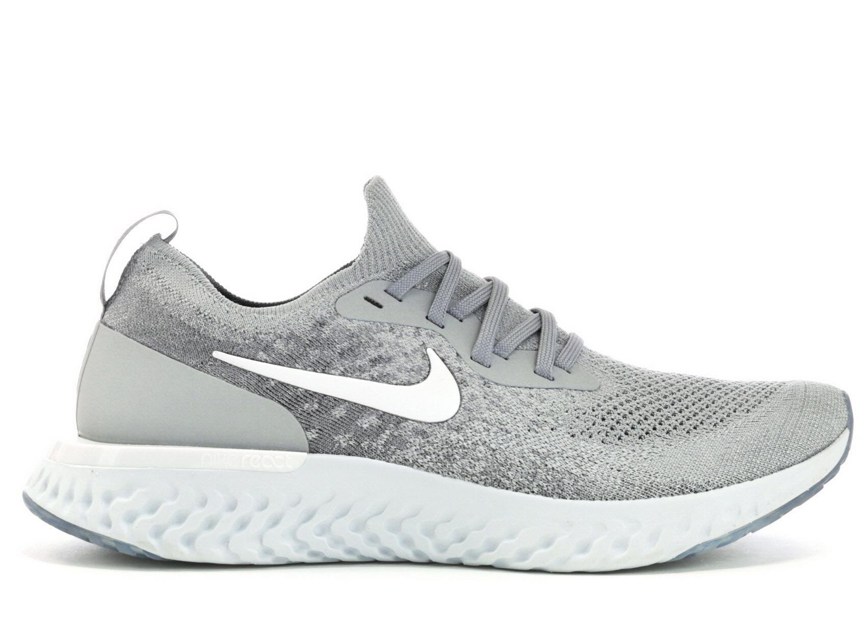 Nike Epic React Flyknit Wolf Grey in