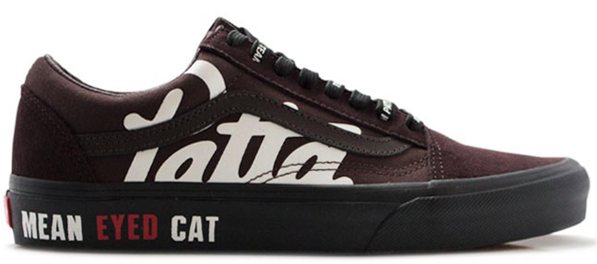 Old Skool Patta Mean Eyed Cat Coffee