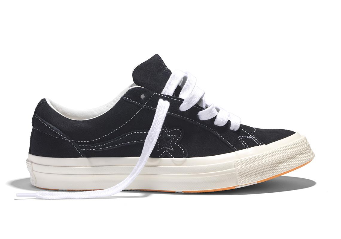 Converse One Star Ox Tyler The Creator Golf Le Fleur Mono Black For Men Lyst