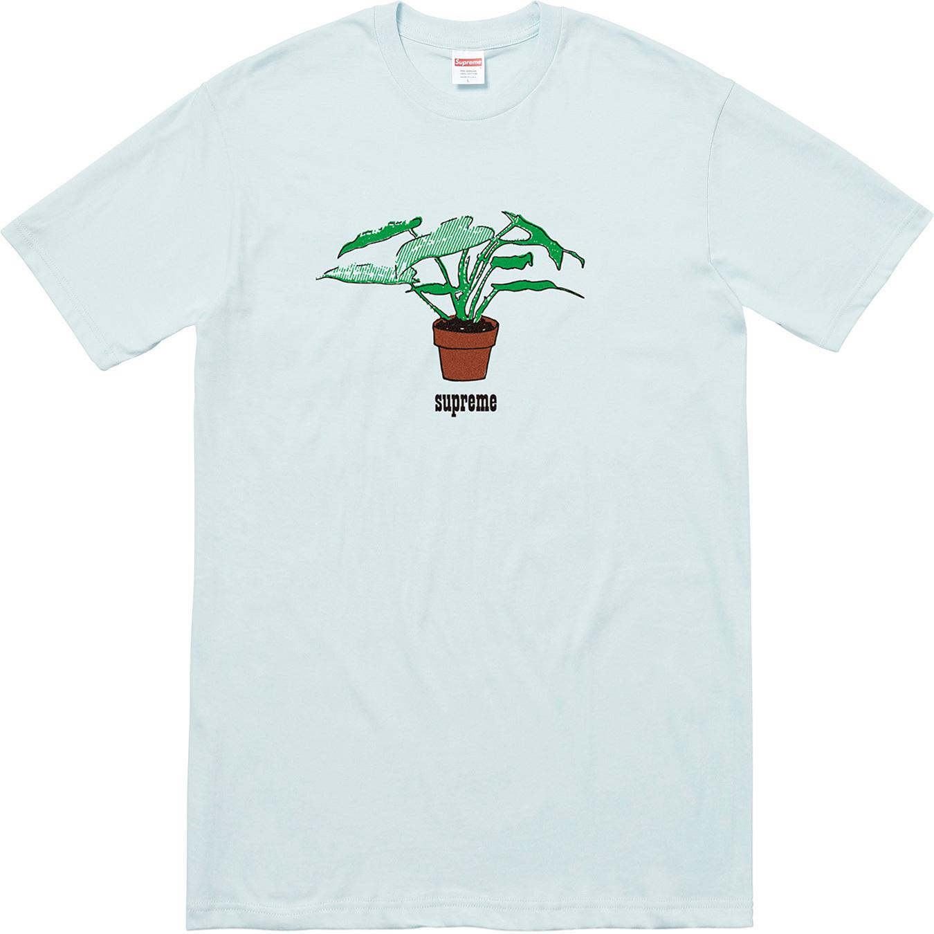 16c590d0 Supreme Plant Tee Pale Blue in Blue for Men - Lyst