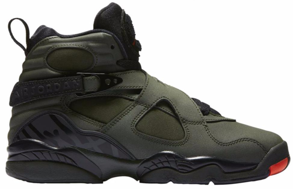 new product 75f99 852a5 Nike. Men s Black 8 Retro Take Flight