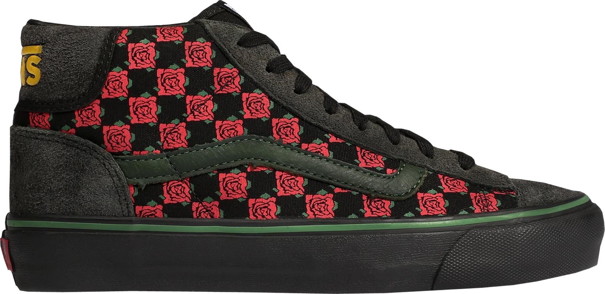 ff681fecb2beaa Lyst - Vans Mid Skool Bodega Sub Rosa Black for Men