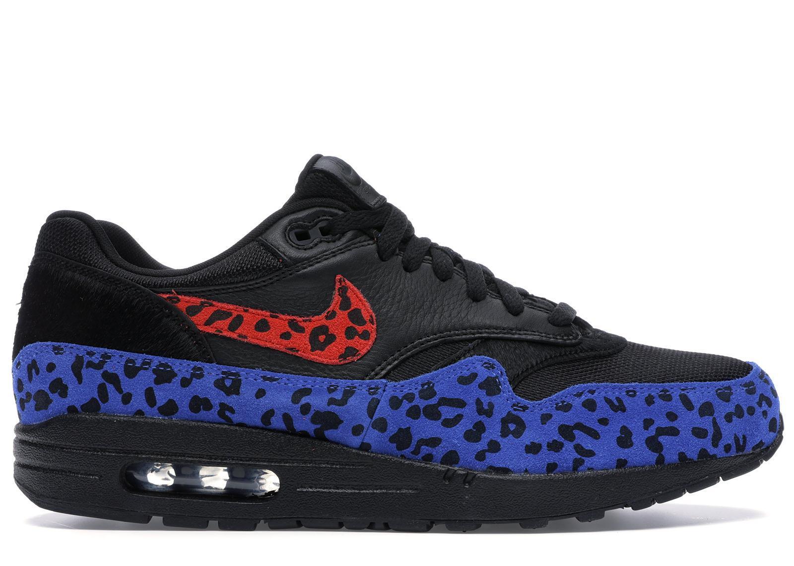 air max 1 black leopard