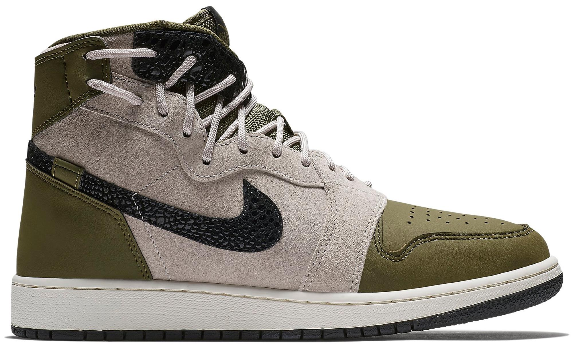 Lyst - Nike 1 Rebel Xx Olive Canvas Moon Particle (w) in Black 2748c8744d2f
