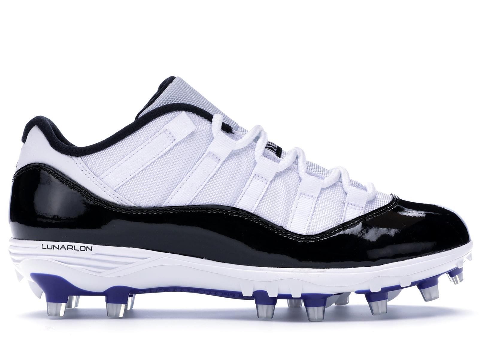 6fc51a37 Lyst - Nike 11 Retro Low Cleat Concord in White for Men