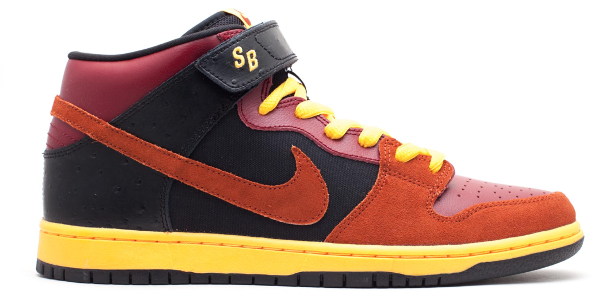 finest selection 7c90f 709e6 Men's Dunk Sb Mid Ostrich Team Red