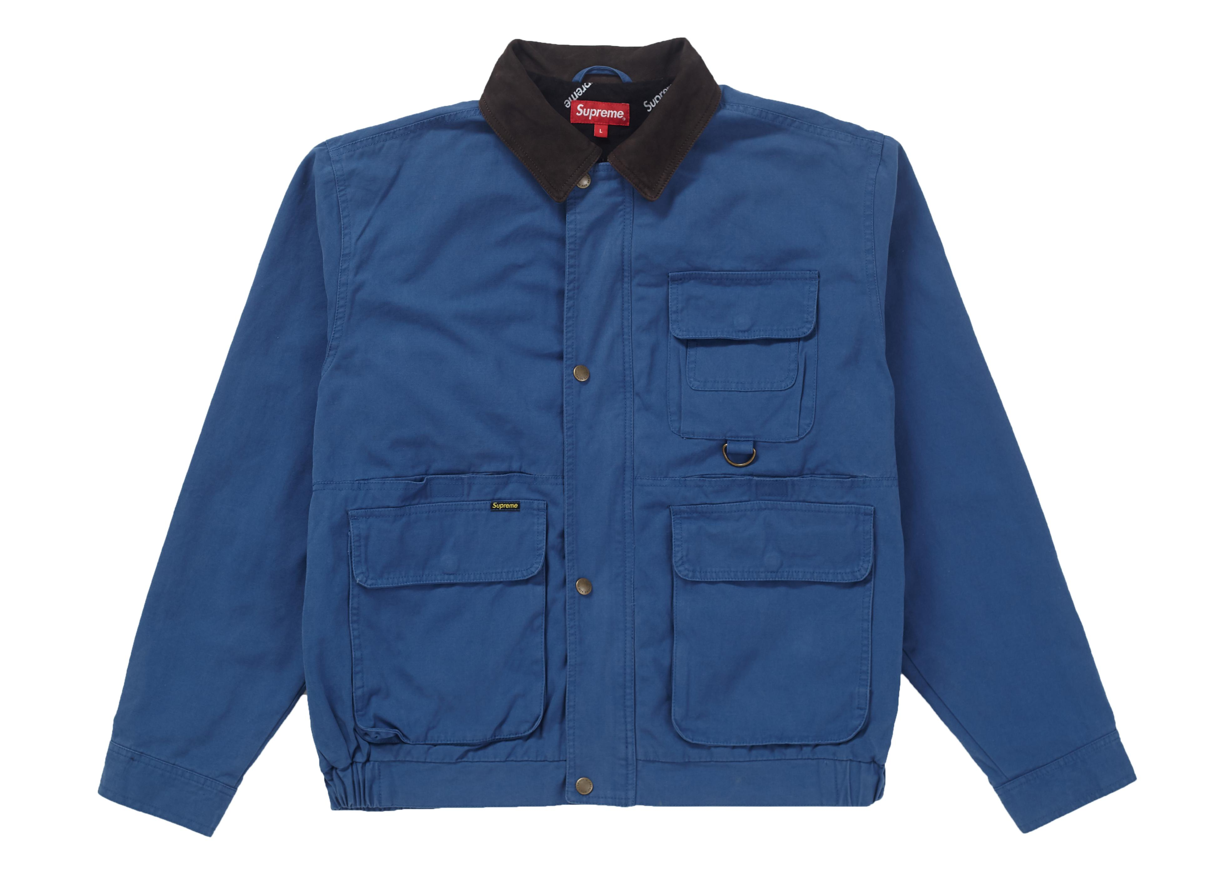 Supreme Field Jacket Blue For Men - Lyst