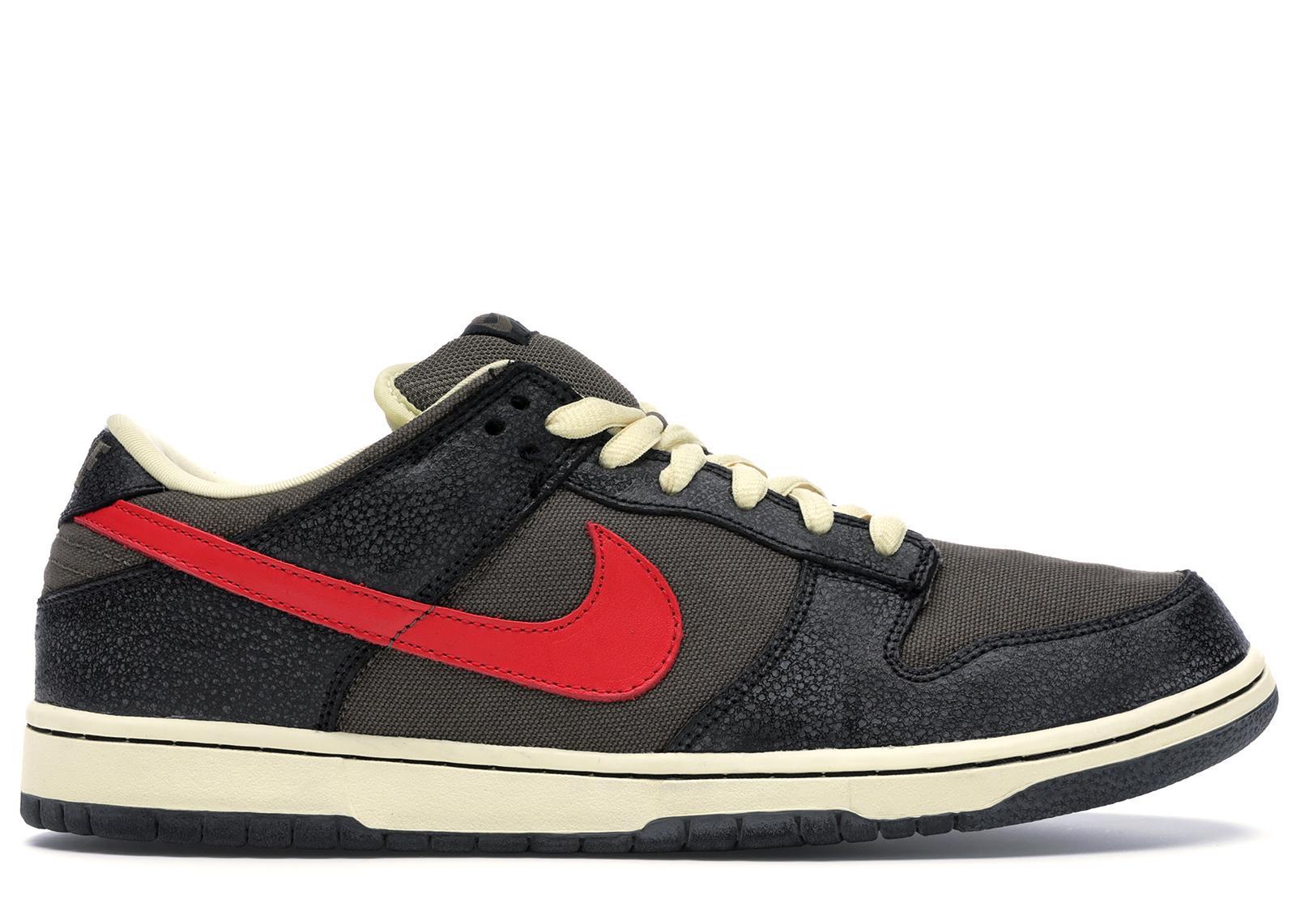 Nike Sb Dunk Low Iron Man in Black for