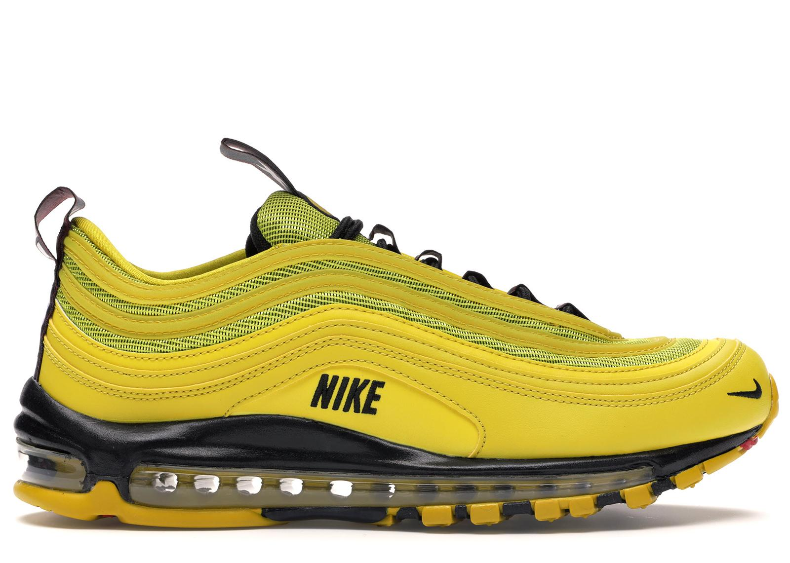 Nike Leather Air Max 97 Bright Citron