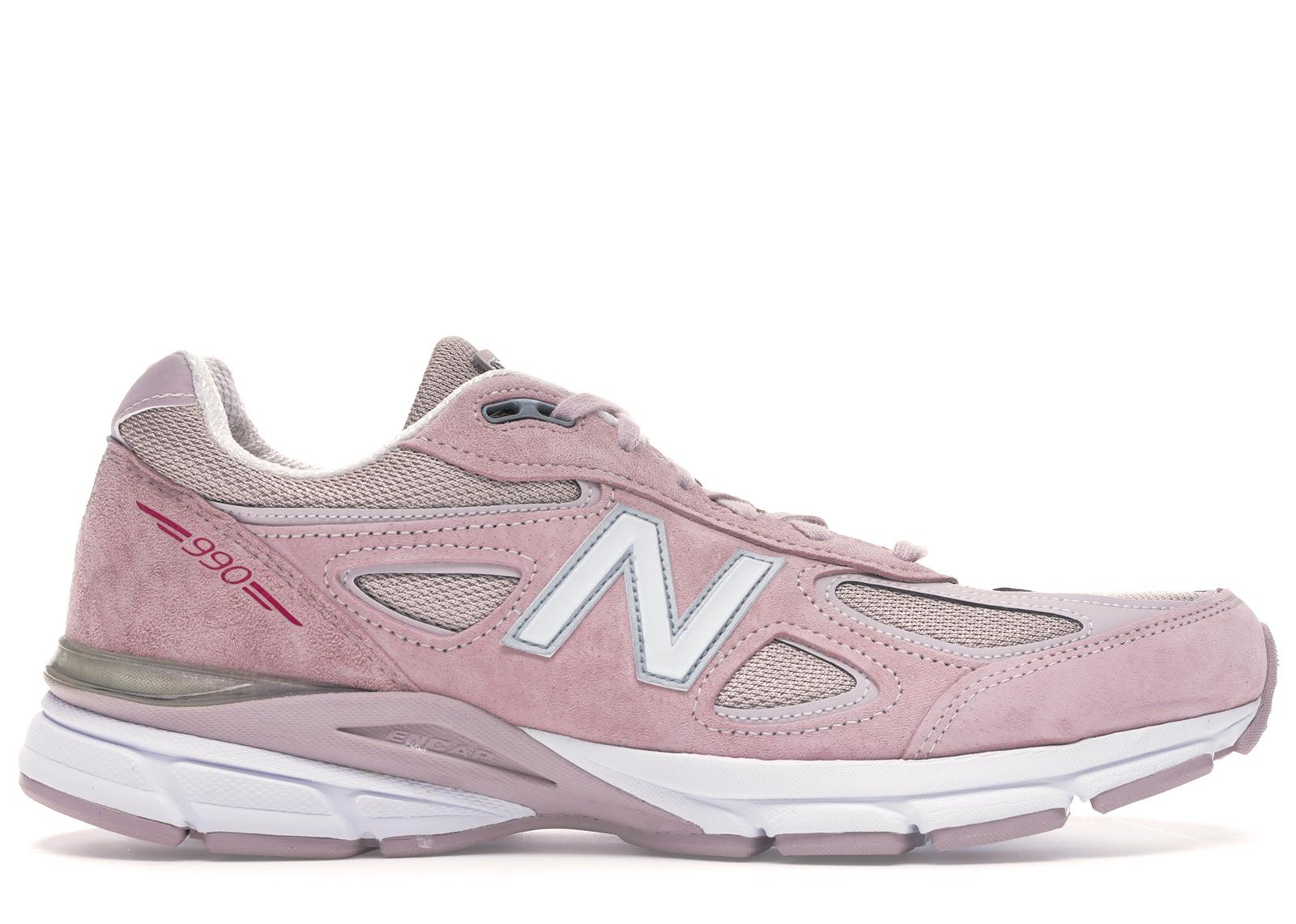 New Balance Made 990 V4 Sneaker in Pink