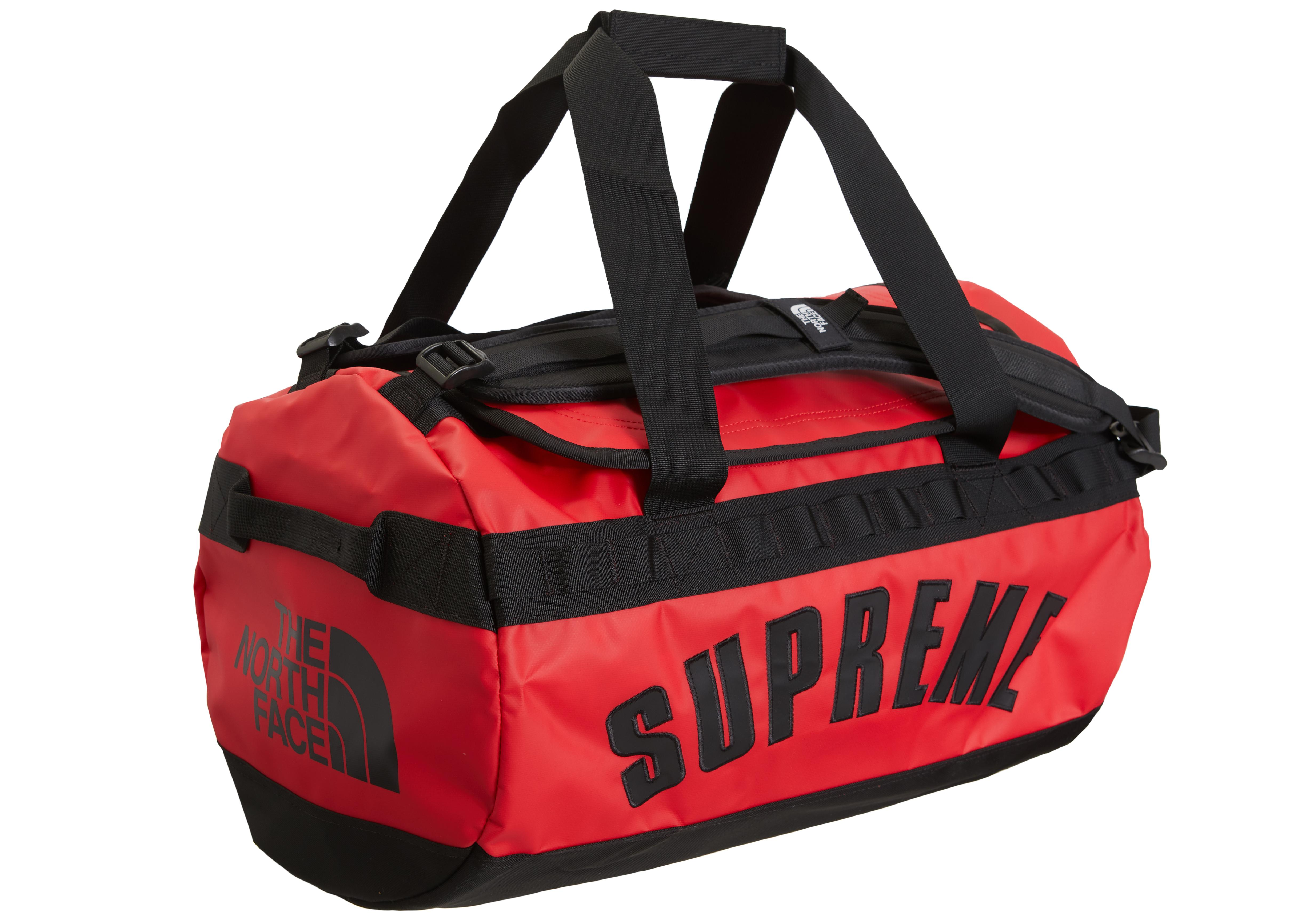891584819bc7 Lyst - Supreme The North Face Arc Logo Small Base Camp Duffle Bag ...