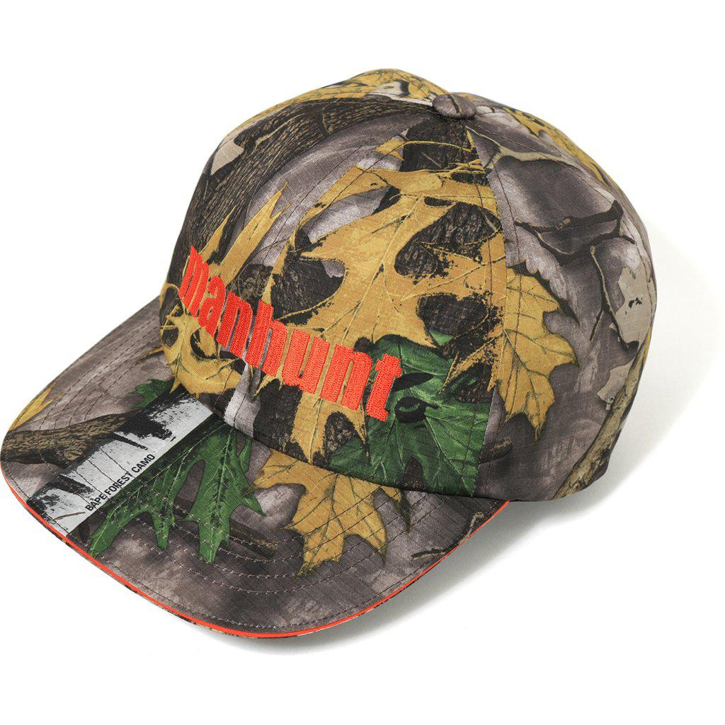 788ebe87578 Lyst - A Bathing Ape Forest Camo Panel Cap Beige in Natural for Men