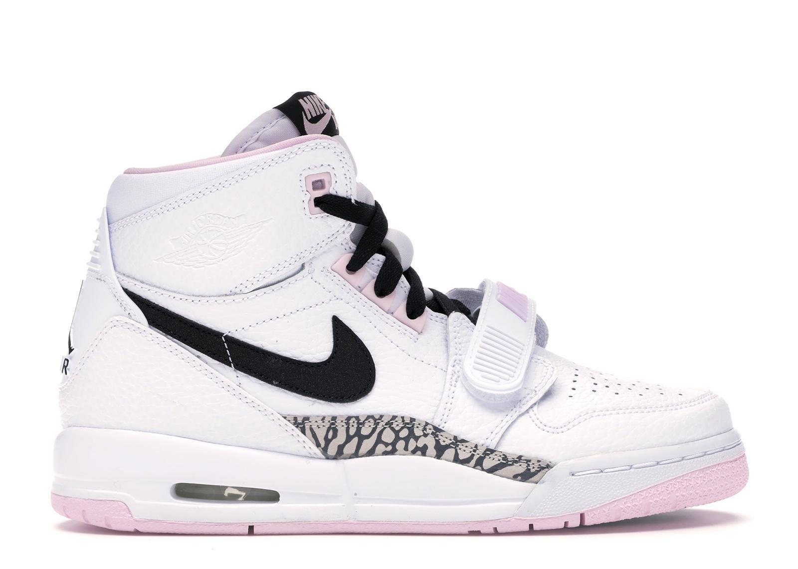d3a2164c Nike Legacy 312 White Black Pink Foam (gs) in White for Men - Lyst