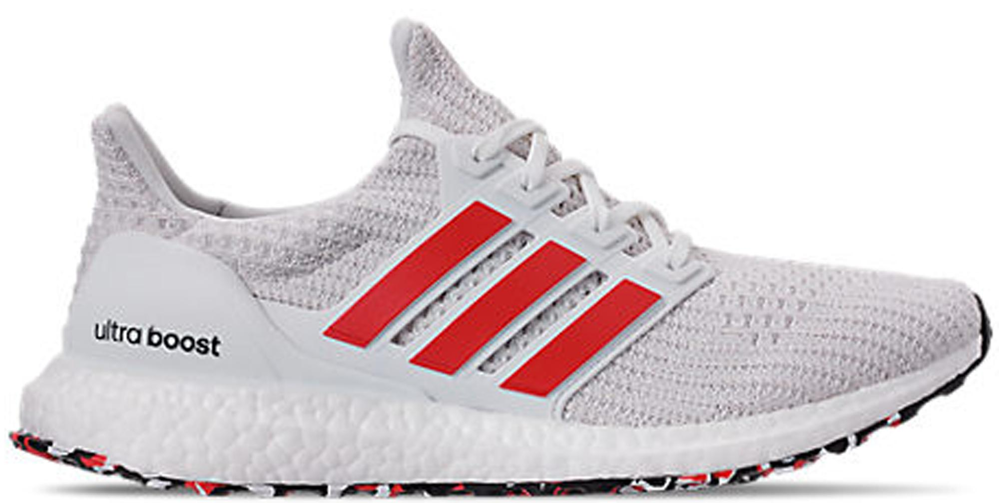 adidas ultra boost 2019 cloud white active red