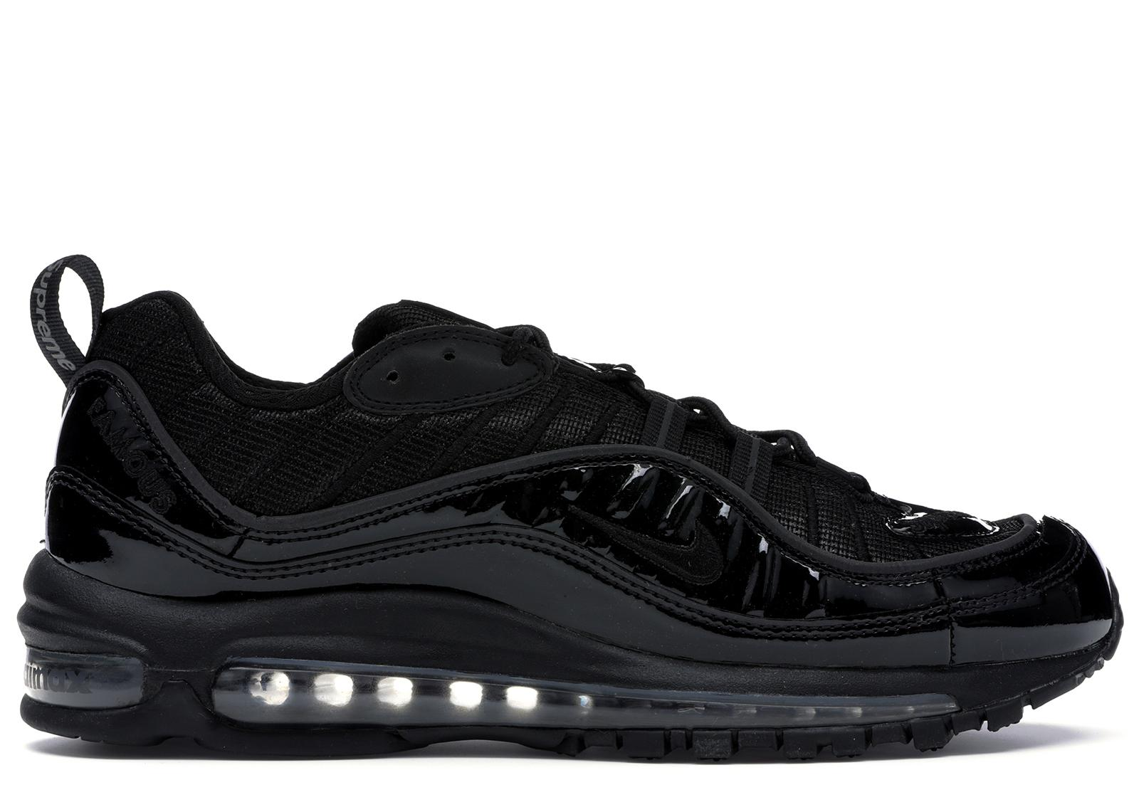 official photos 63336 51f27 Men's Air Max 98 Supreme Black