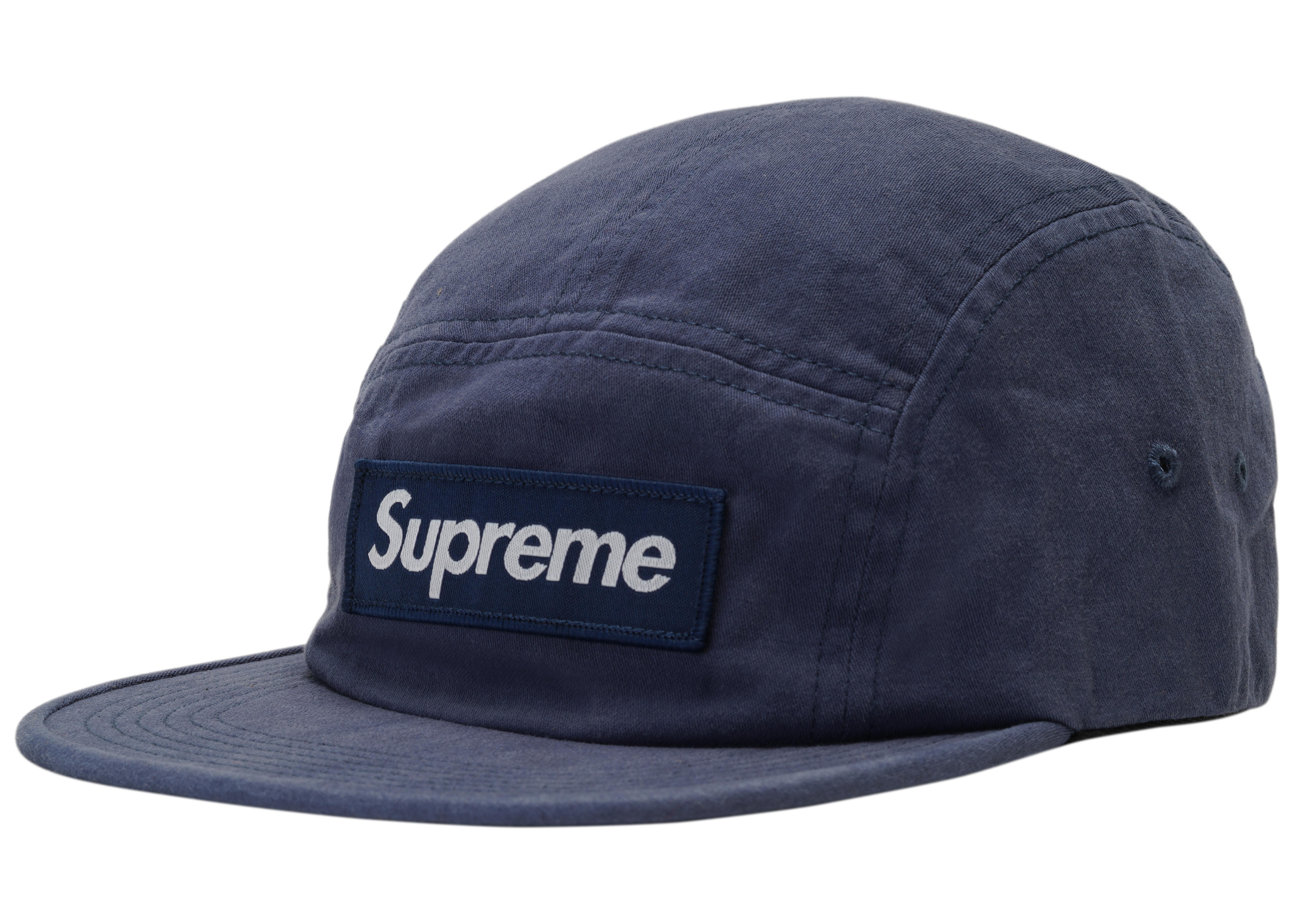a2987fe1e4f Lyst - Supreme Military Camp Cap (fw18) Navy in Blue for Men