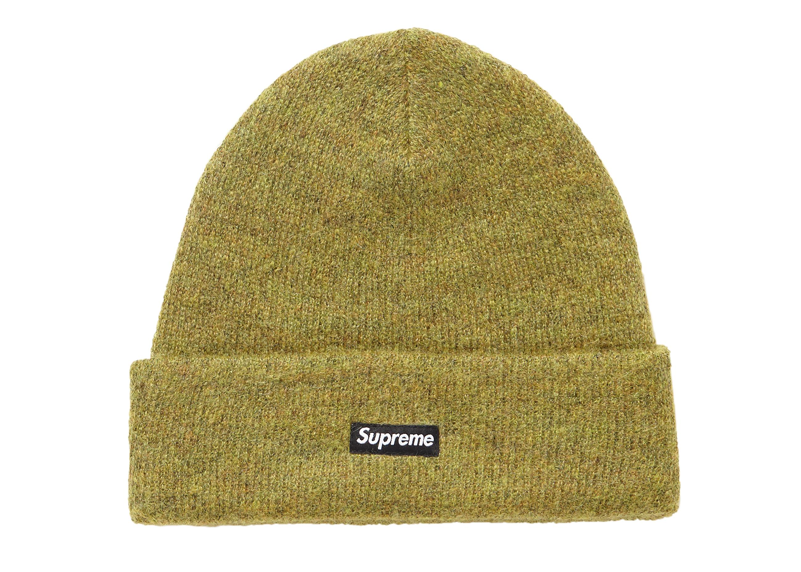 37dff69c9384b Lyst - Supreme Mohair Beanie (fw18) Olive in Green for Men