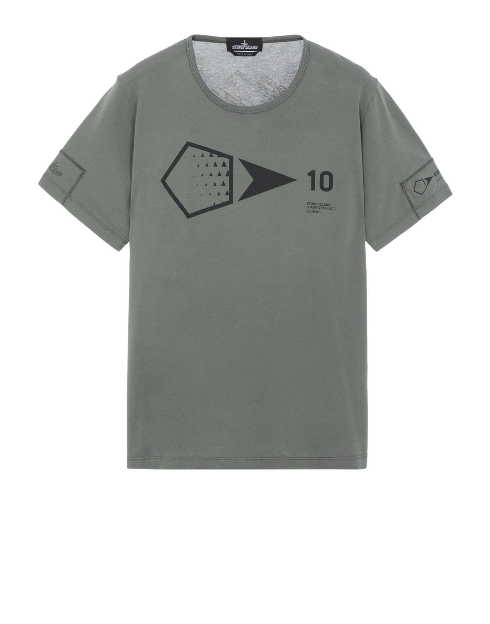 091459f4 Lyst - Stone Island 20310 Printed Ss 10 Years Anniversary-t (jersey ...