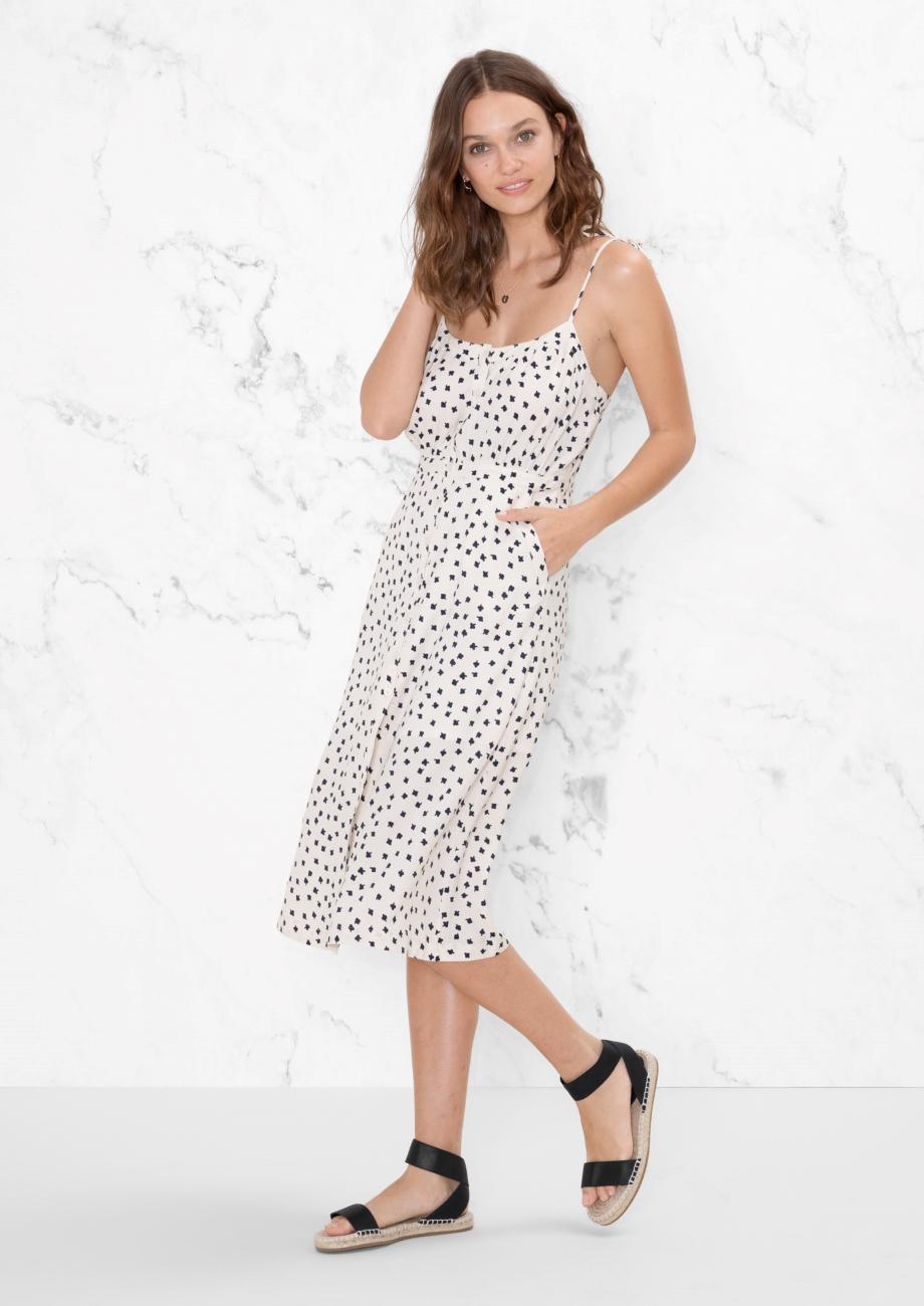 77ebfa7dd00 Lyst -   Other Stories Clover Print Dress